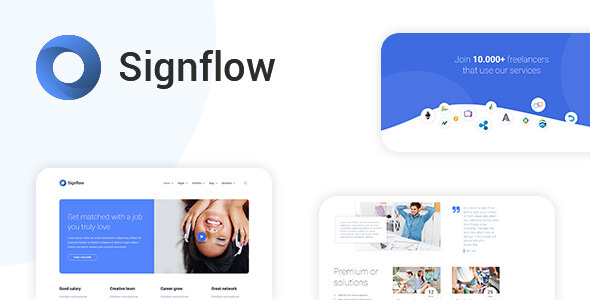 Signflow HTML Template